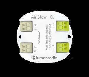 Airglow | Multi standard lighting control solution - LumenRadio