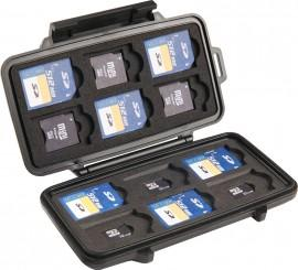 0915 Memory Card Case - 12 SD cards, 6 mini SD cards, & 6 micro SD cards - Georgia Case