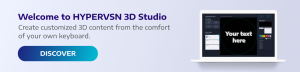 HYPERVSN - 3d holographic animation maker software | Hologram video 3D Studio for HYPERVSN Devices.
