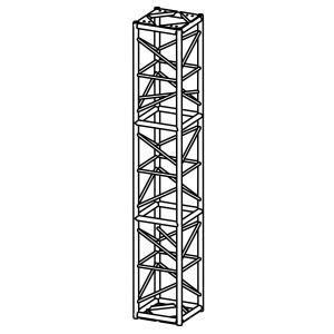 20.5″ x 20.5″ Tower Box Truss