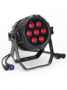 eyeBall Outdoor (IP65) | 7-12w Quad (RGBW) LEDs, 25 Degree Beam IP65 | elektraLite